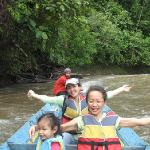 Boat ride to Temburong National Park, Brunei, Borneo Island