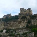 Nearby medieval Beynac and its Castle