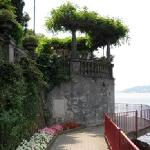 Lovely promenade along the lake in Varenna.