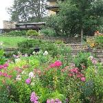 beautiful gardens pair with architecture