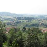 Viewed from bastion in San Gimignano