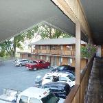  motel view from second floor
