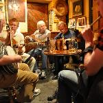 trad music at the Harbour Bar