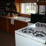  Kitchen in cabin 9