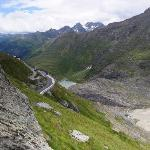 Glacial meltwater lake and last part of Alpine Road