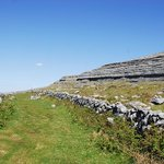 "One of the Burren ""Green Roads"""