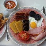 Delicious breakfasts with high quality local ingredients