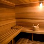 Sauna at Spa Lux