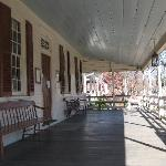  Rising Sun Tavern - Front Porch