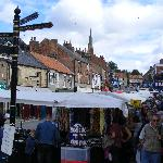 Pickering - monday is market day