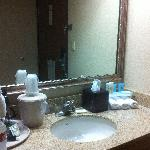 Holiday Inn Express Salida - the bathroom