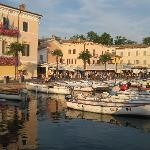 The port in Bardolino
