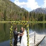 Our wedding at the lake