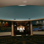 Rotunda of Murals in Main Lobby