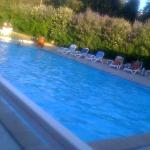 piscine a 30 degrès