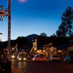 Ruidoso, New Mexico at Dusk