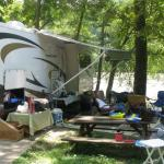  River front RV spot