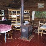Interior of Trapper's Cabin (sleeps five)