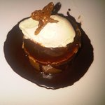 $12 Peanut Butter Mousse with Banana Ice cream