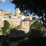 Mostar view from Restaurant Babilon