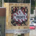 TGIF's right on the corner