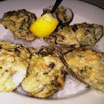 Oyster Asiago; a delicacy from the heavens, really.