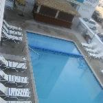  Poolside view from Motel balcony