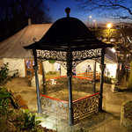 Band Stand at night time