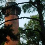 The Currituck lighthouse, one of 5 on the OBX