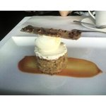 Cafe Dufrain Carrot Cake