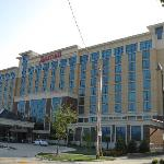 The Marriott is adjacent to the ISU campus