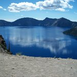 crater lake from the rim