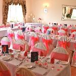  Our wedding breakfast in function room