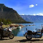  Bikes at Minnewanka