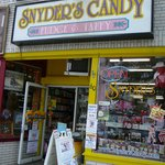Exterior of Snyder's Candy in Rehoboth Beach