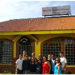 our group at the hostel
