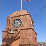 The Clock Tower at the Odd Fellows Lodge on Main Street