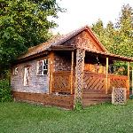  cabin in the garden - available for accomodation