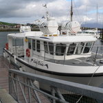This is the boat that we came back from the Blaskets on