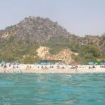 Oludeniz Beach from the sea