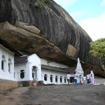 The Dambulla Cave Temple - just a 5 minutes drive from the hotel