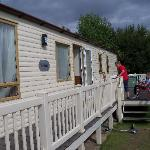 our gorgeous caravan