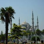 The Blue Mosque a very easy walk