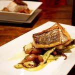 Rockfish with Fingerlings and Pancetta