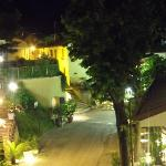 Gabbicce Monte at night