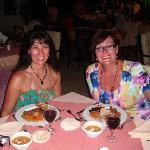 Belly dancing night at the hotel - we had a great night!