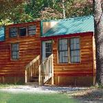 Enjoy our multiple family lodging options, such as our cabins!