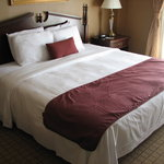 New bedding and Carpet for Inn on Broadway