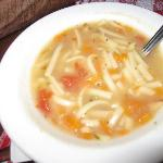Disgusting Chicken Noodle Soup