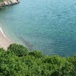  Babbacombe beach, taken from up on the promenade.